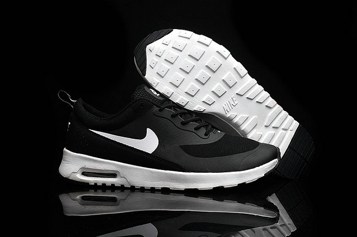 Cheap Wholesale Nike Air Max 87 Womens White Black Running Shoes