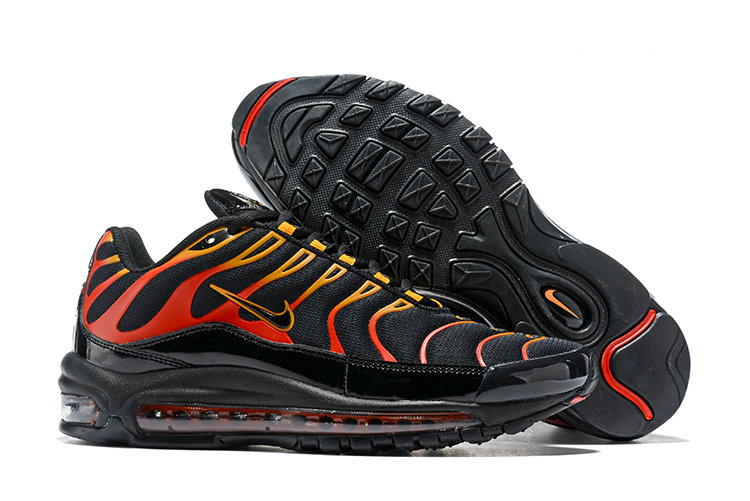 Wholesale Cheap Nike Air Max 97 Plus Max TN Red Black Gold