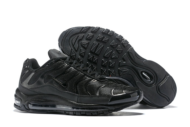 Wholesale Cheap Nike Air Max 97 Plus Max TN Triple Black