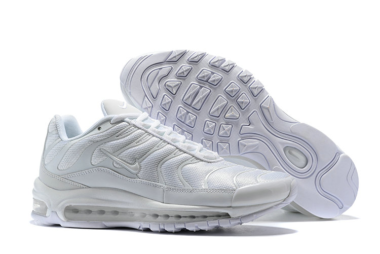 Wholesale Cheap Nike Air Max 97 Plus Max TN Triple White