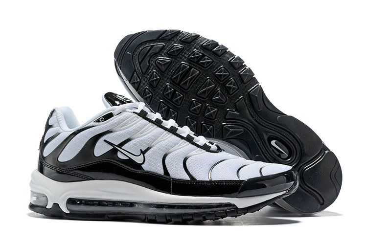 Max Wholesale Nike Max 97 Plus Black TN Cheap Air White WH9E2DIY