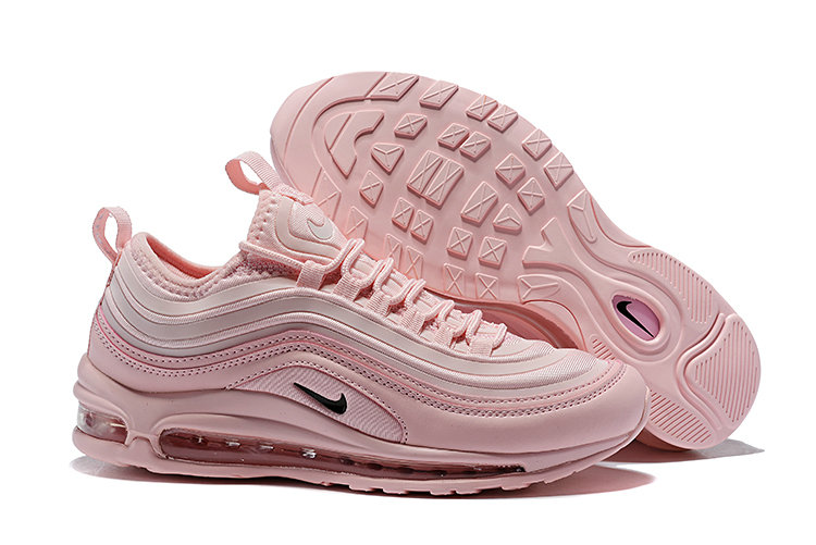 Wholesale Cheap Nike Air Max 97 Running Shoes Triple Pink