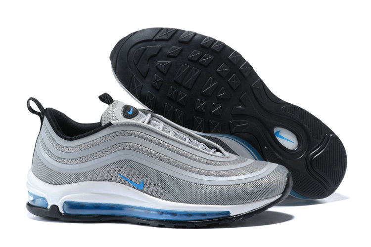 Cheap Wholesale Nike Air Max 97 Ultra  17 Grey Blue White Black