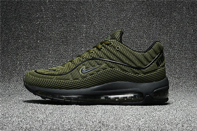 Cheap Wholesale Nike Air Max Supreme x 98 Mens Army Green Black Running Shoes