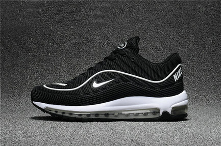 Cheap Wholesale Nike Air Max Supreme x 98 Mens Black White Running Shoes