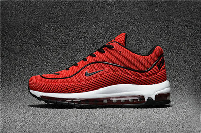 Cheap Wholesale Nike Air Max Supreme x 98 Mens Red Black White Running Shoes