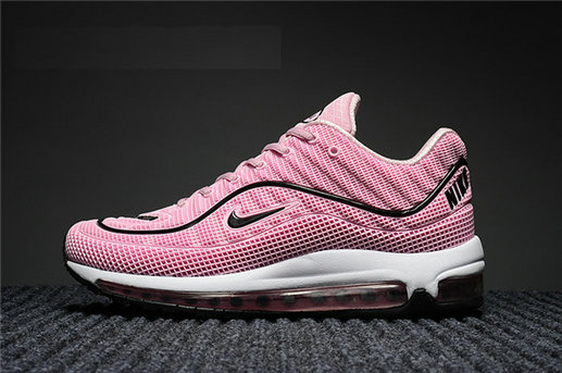 Cheap Wholesale Nike Air Max Supreme x 98 Womens Pink White Black Running Shoes