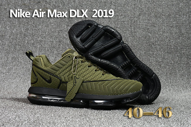 Cheap Wholesale Nike Air Max DLX 2019 Army Green Black Running