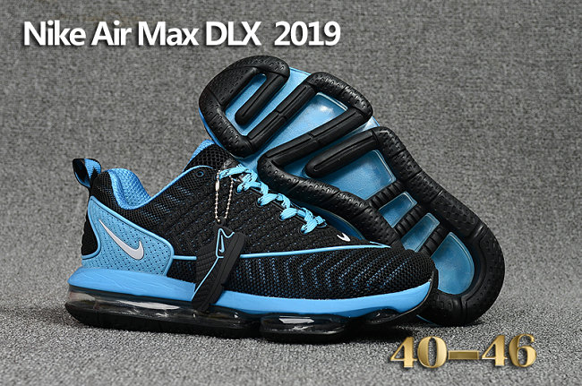 Cheap Wholesale Nike Air Max DLX 2019 Blue Black Running