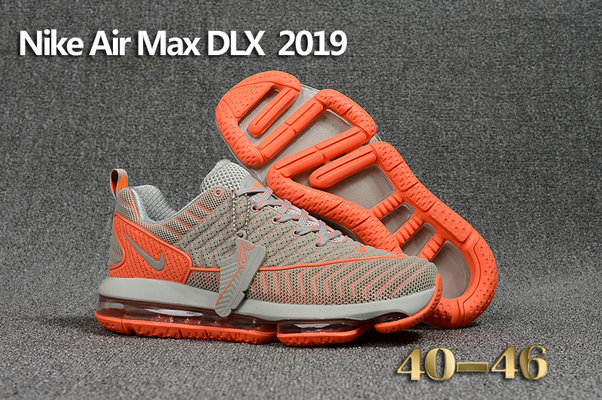 Cheap Wholesale Nike Air Max DLX 2019 Orange Grey Running