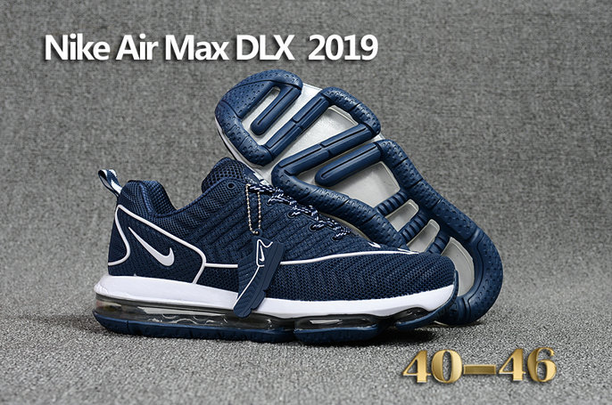 Cheap Wholesale Nike Air Max DLX 2019 White Blue Running