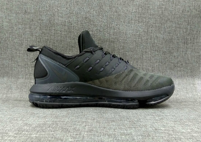 Cheap Wholesale Nike Air Max DLX Green charcoal gray Running Shoes