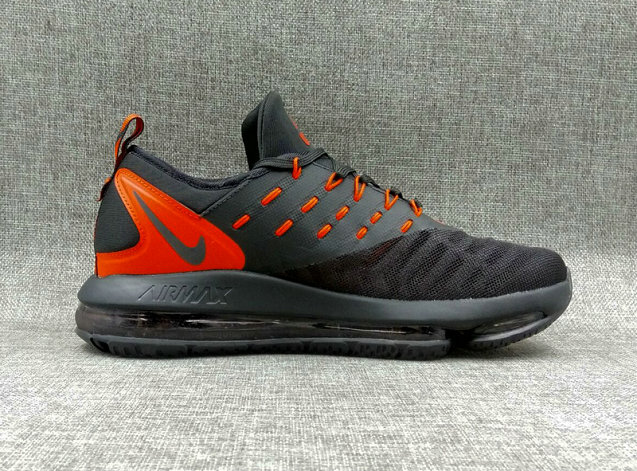 Cheap Wholesale Nike Air Max DLX Orange Black Running Shoes