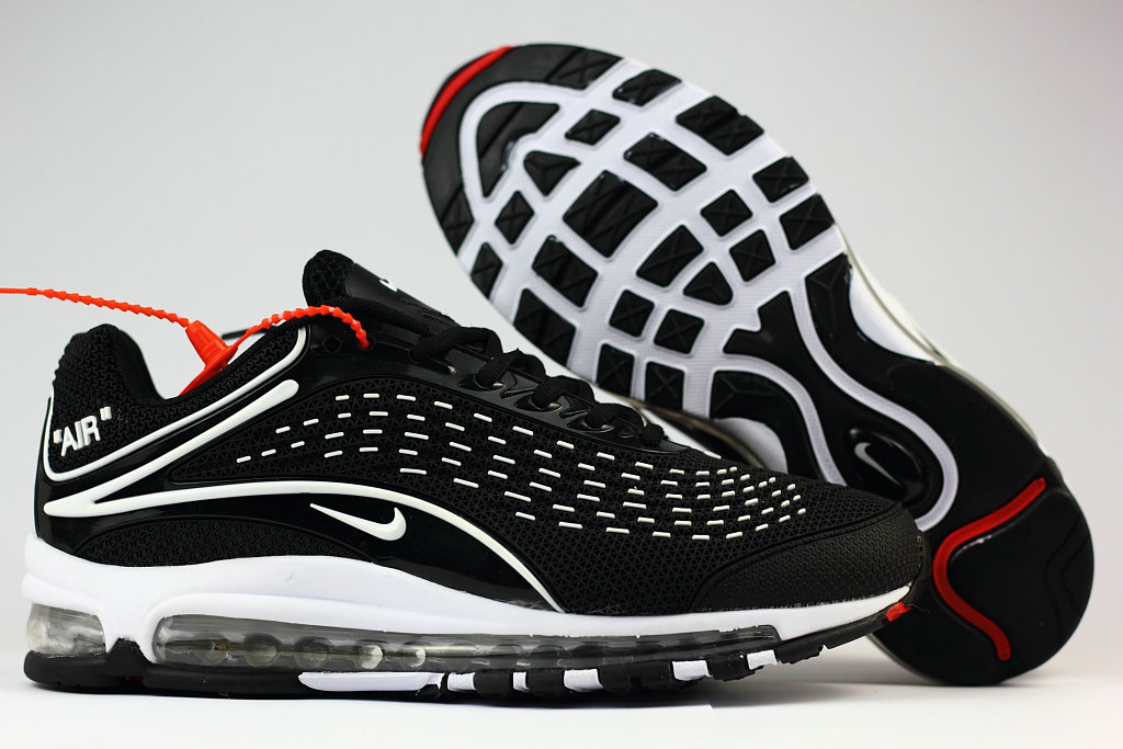 Wholesale Cheap Nike Air Max Deluxe 2019 White Black Running Shoes