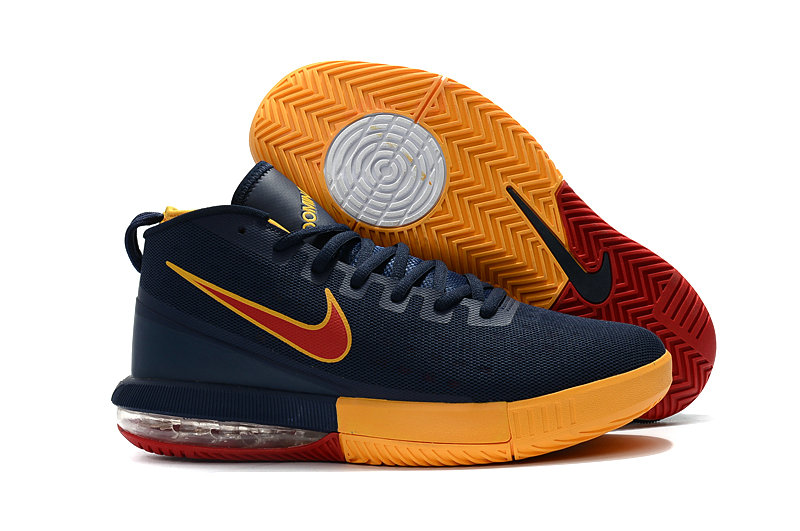 Cheap Wholesale Nike Air Max Dominate Navy Blue Yellow Red