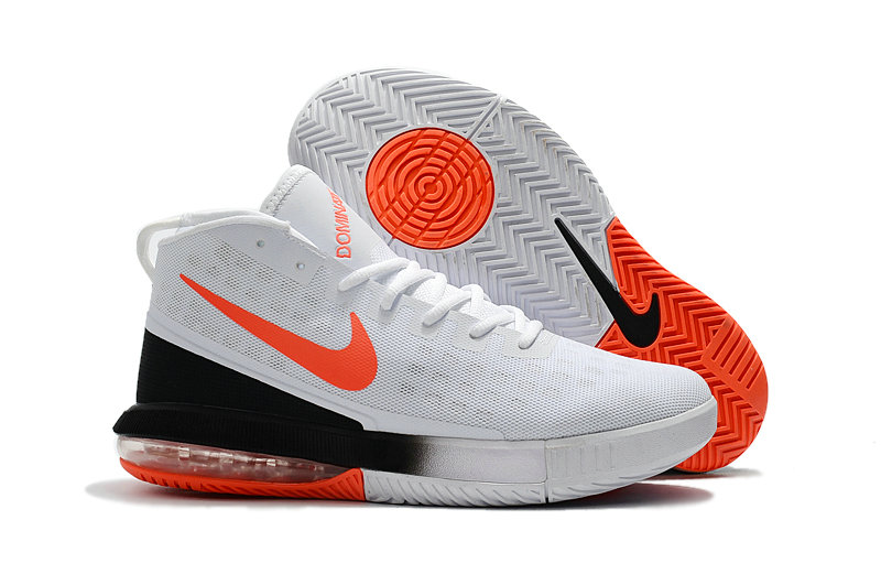 Cheap Wholesale Nike Air Max Dominate White Orange Black