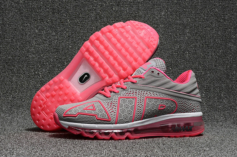 Cheap Wholesale Nike Air Max Flair 2017 Womens Grey Pink Black Sporting