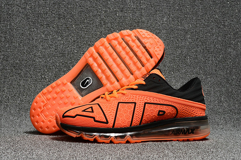 Cheap Wholesale Nike Air Max Flair 2017 Womens Orange Black Sporting