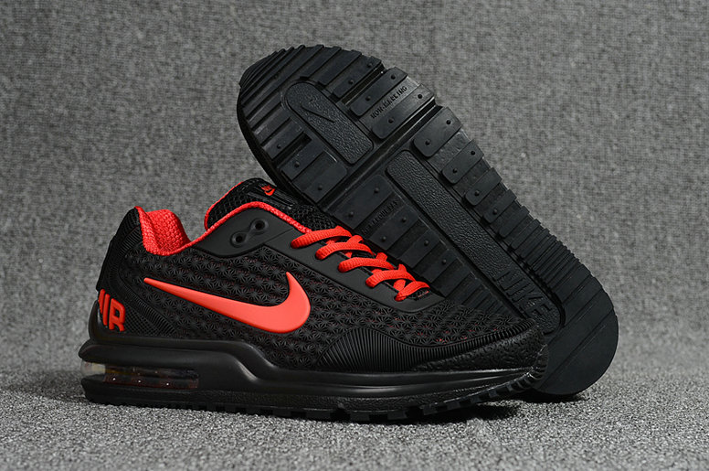 Wholesale Cheap Nike Air Max LTD Red Black Running Shoes