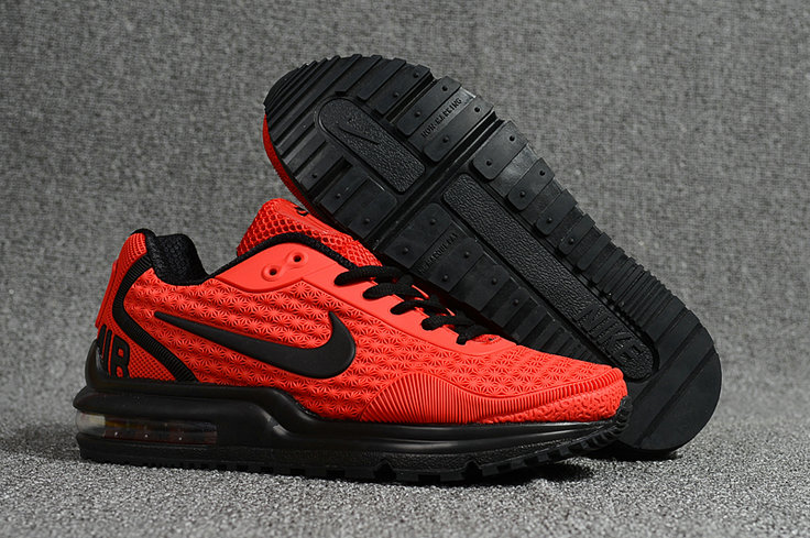 Wholesale Cheap Nike Air Max LTD University Red Black Running Shoes