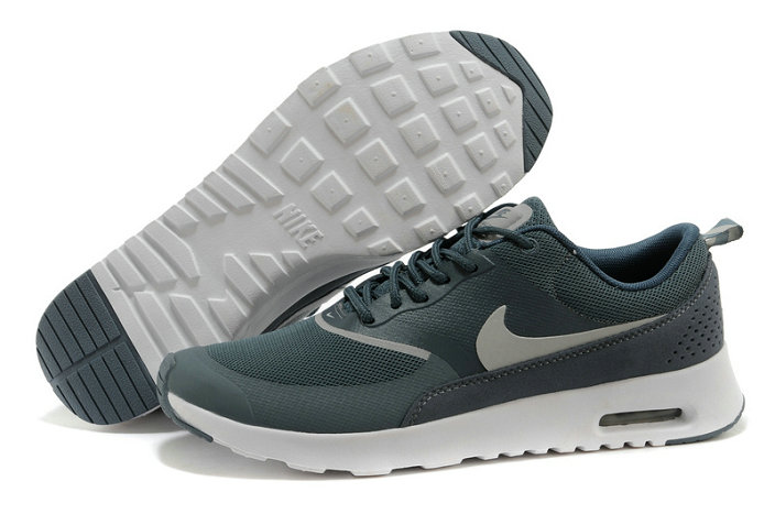 Cheap Wholesale Nike Air Max Thea Grey Blue White