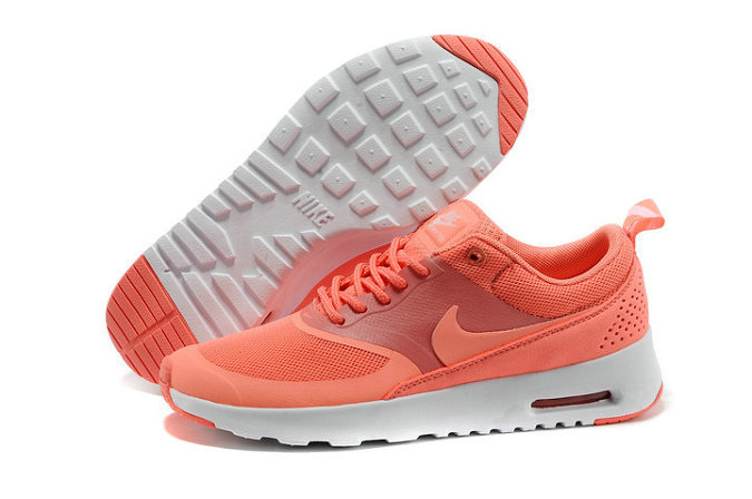 Cheap Wholesale Nike Air Max Thea Orange Womens