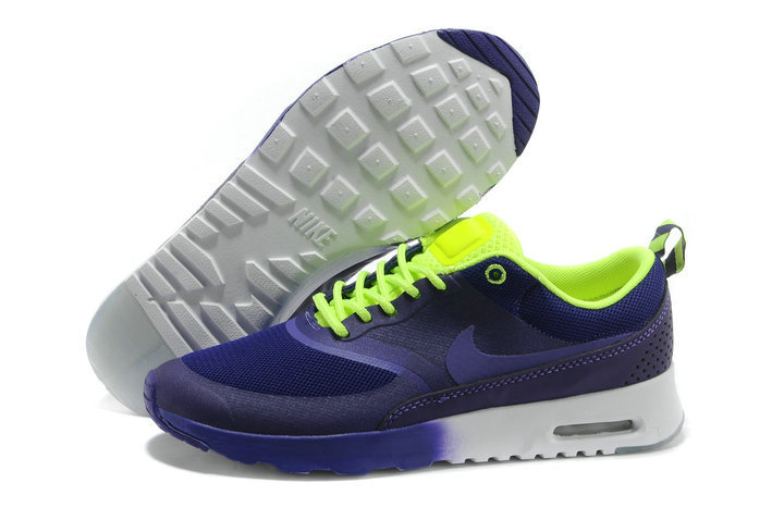 Cheap Wholesale Nike Air Max Thea Purple Blue Green