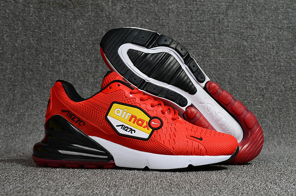 uk availability 4443e 058ed Wholesale Cheap Nike Air Maxs 270 Flair University Red Black White