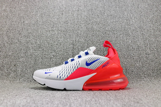 1c113ac9e4 Wholesale Cheap Nike Air Maxs 270 Womens White Dark Blue Sun Red Black  Metal Silver Slanc