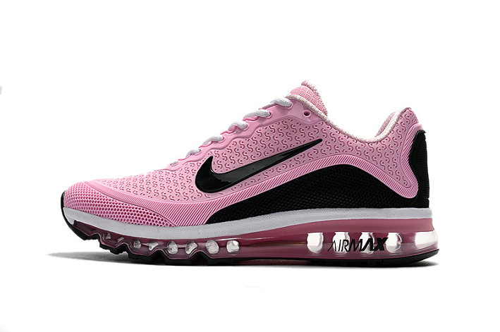 Cheap Wholesale Nike Air Maxs Womens Pink White Black