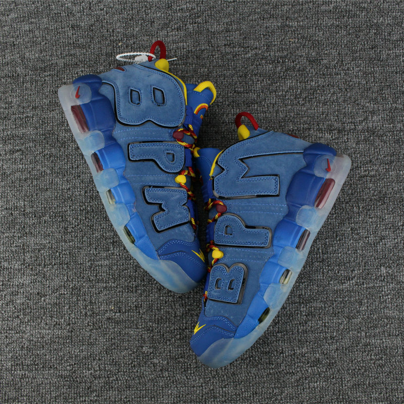 Cheap Wholesale Nike Air More Uptempo Colorway FreeStyle Royal Blue