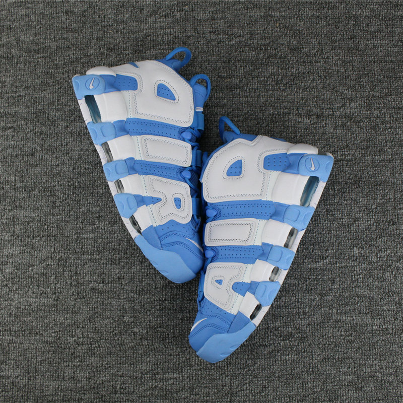 Cheap Wholesale Nike Air More Uptempo Colorway White Light Blue