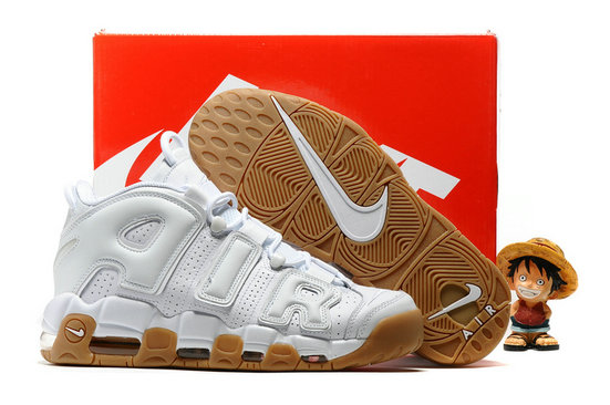 Cheap Wholesale Nike Air More Uptempo OG White Yellow