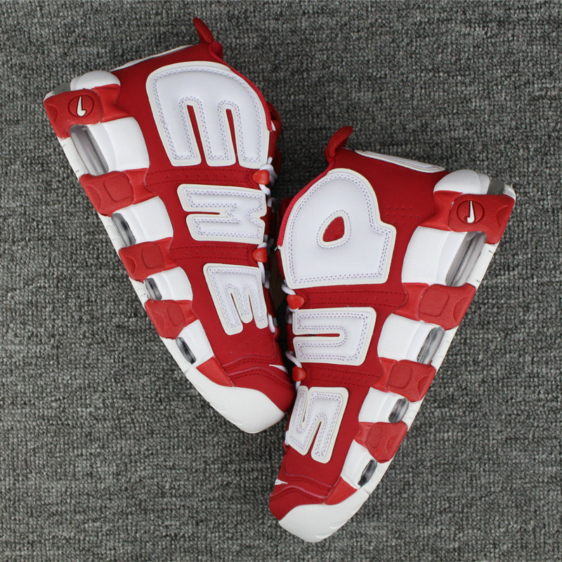 Cheap Wholesale Nike Air More Uptempo Suptempo Supreme x Covers Shoesmaster Magazine