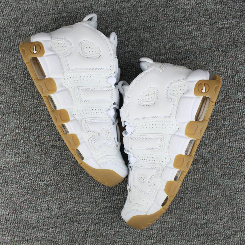 Cheap Wholesale Nike Air More Uptempo White Gum Releasing Early at This Retailer