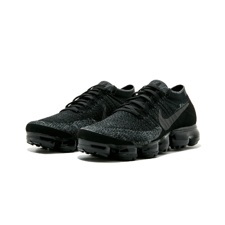 pretty nice 90b77 caadc Cheap Wholesale Nike Air Vapor Max Flyknit All Black Grey