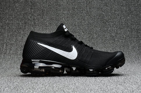 Cheap Wholesale Nike Air VaporMax 2017 Flyknit Womens White Black