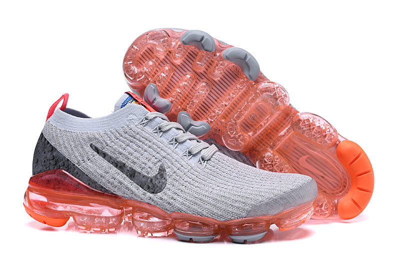 Wholesale Cheap Nike Air VaporMax 3.0 Bright Mango Pure Platinum-Black-White-Metallic Silver AJ6900-800