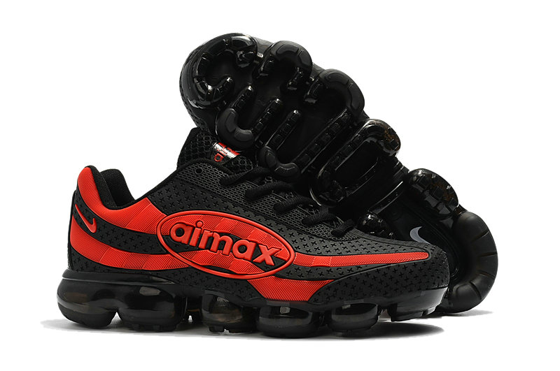 Wholesale Cheap Nike Air VaporMax 95 Black Red