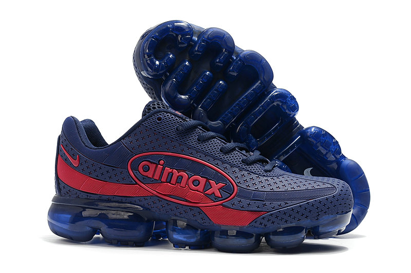 Wholesale Cheap Nike Air VaporMax 95 Navy Blue Red