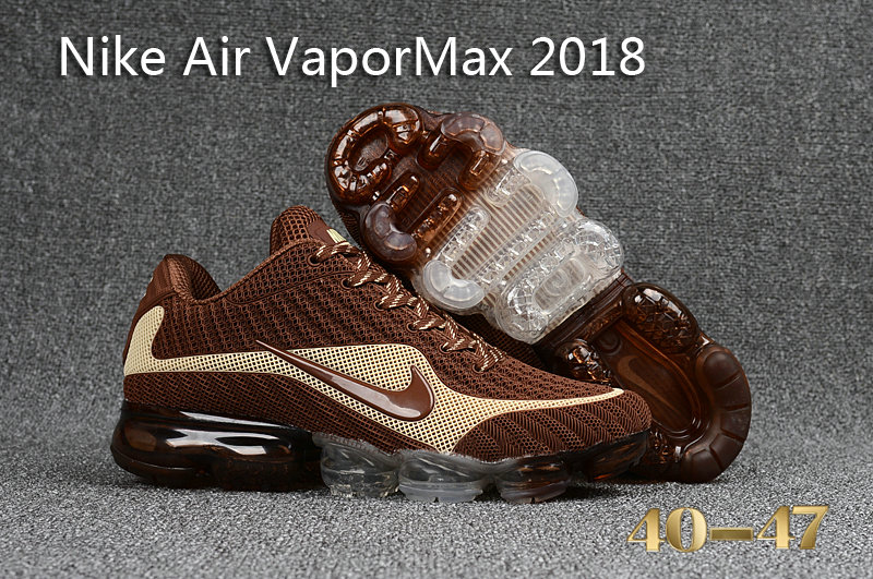 Cheap Wholesale Nike Air VaporMax Colorway Brown Cream
