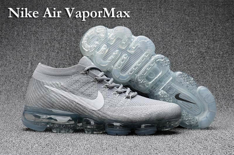 Cheap Wholesale Nike Air VaporMax Colorway Silver Grey