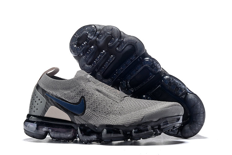 online store 65ffd 32cfa Wholesale Cheap Nike Air VaporMax Flyknit 2.0 Shoes Blue Grey Black