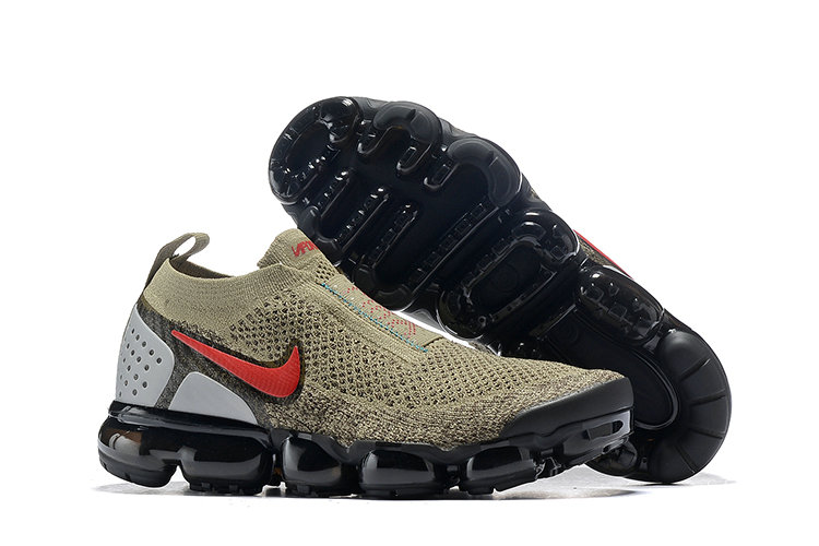 Wholesale Cheap Nike Air VaporMax Flyknit 2.0  Shoes Red Brown Black