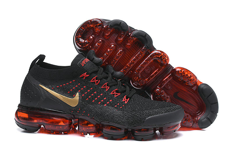 Wholesale Cheap Nike Air VaporMax Flyknit 2.0 Chinese New Year Black Red BQ7036-001