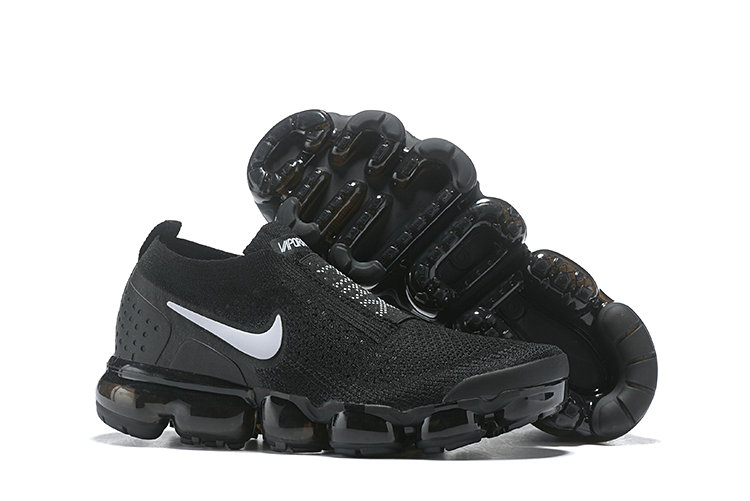 Wholesale Cheap Nike Air VaporMax Flyknit 2.0 Womens Shoes Black White