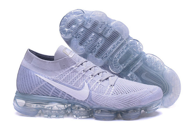 Cheap Wholesale Nike Air VaporMax Flyknit Running Grey