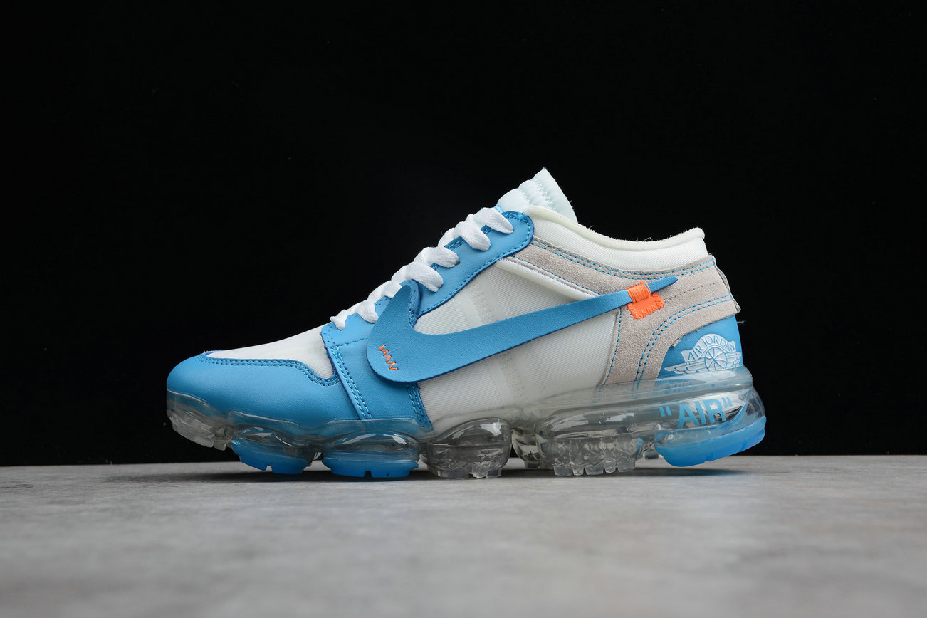 new product c4651 03c9c Wholesale Cheap Nike Air VaporMax Jordan 1 White Sky Blue Blanc