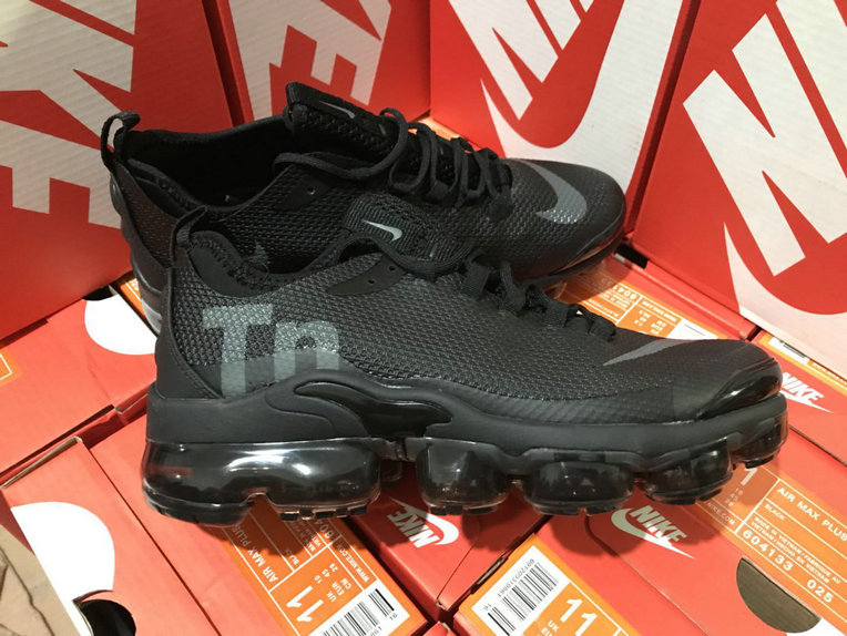 152a418b6a Wholesale Cheap Nike Air VaporMax Plus TN Blanc Black - China ...