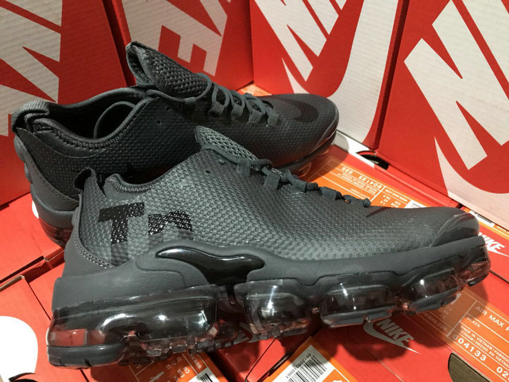 Wholesale Cheap Nike Air VaporMax Plus TN Deep Grey Black